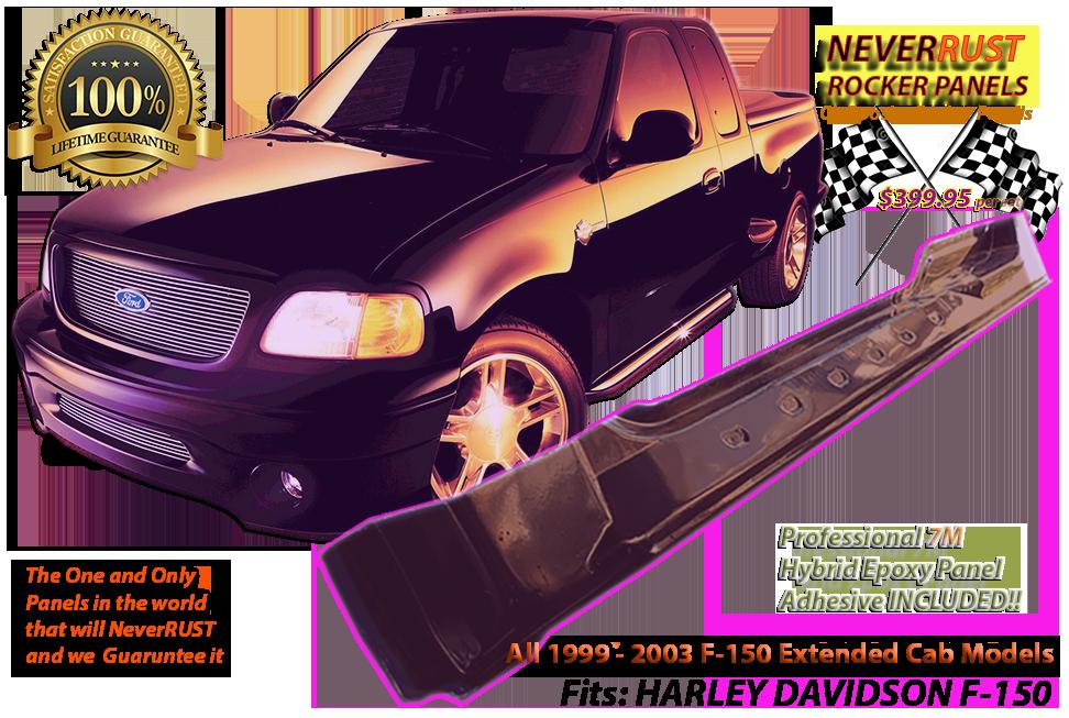 Sensational 1998 2003 Neverrust F150 Extended Cab Rocker Panel Set Pabps2019 Chair Design Images Pabps2019Com