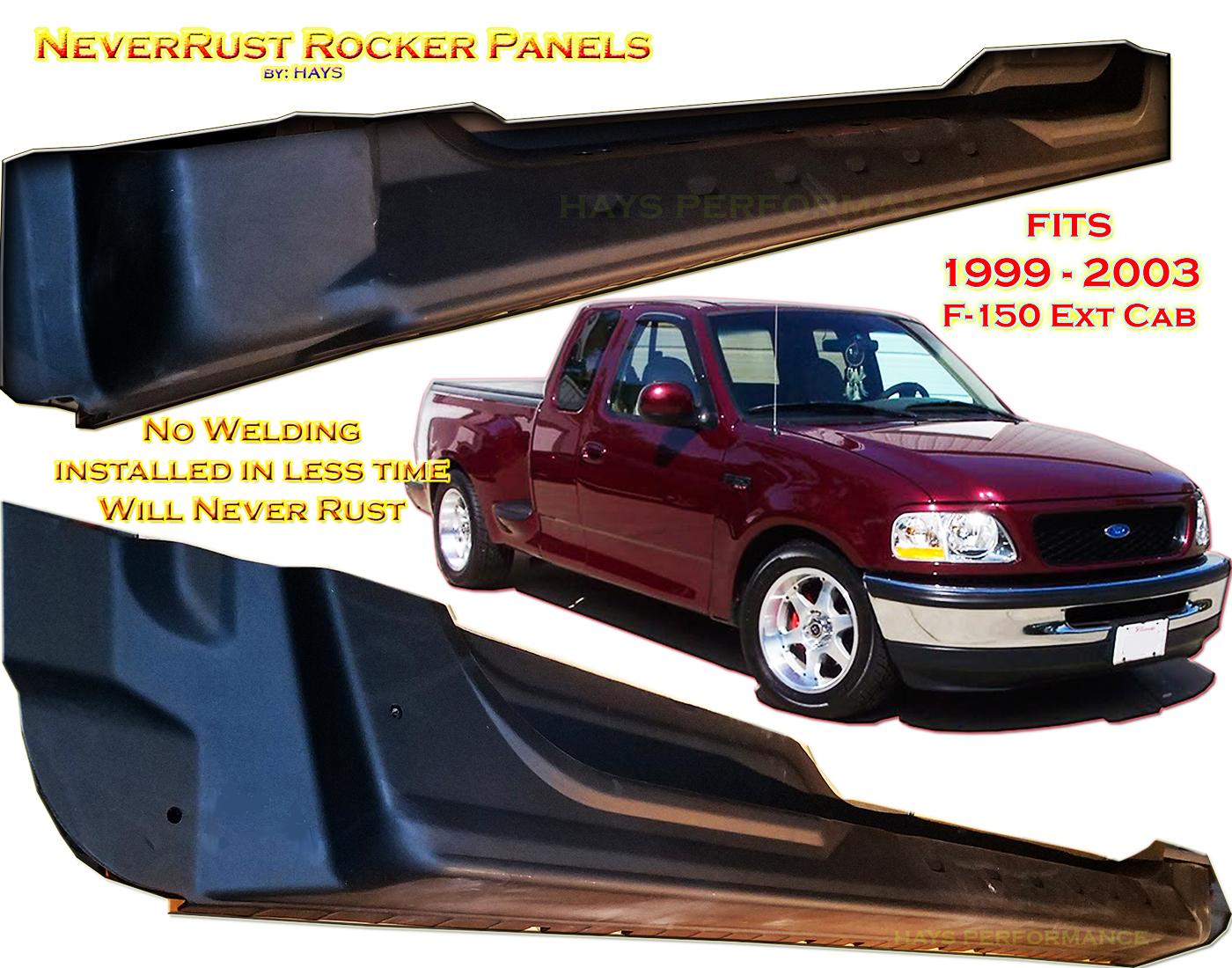 Surprising 1998 2003 Neverrust F150 Extended Cab Rocker Panel Set Pabps2019 Chair Design Images Pabps2019Com