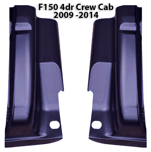 01-03 RIGHT Ford Cab Corner Crew Cab F150 SuperCrew Rust Repair 4 door Truck RH